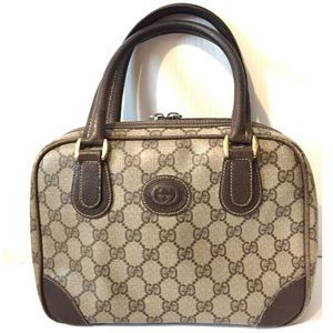 Vintage GUCCI Petite Doctor Bag Mini Dome Satchel